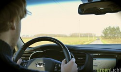 kia optima interieur driving