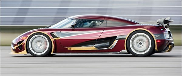 Koenigsegg Agera RS haalt 444 km/u