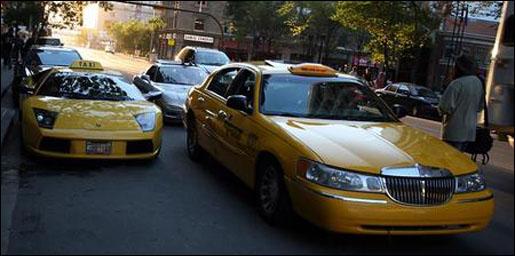 Lamborghini Taxi