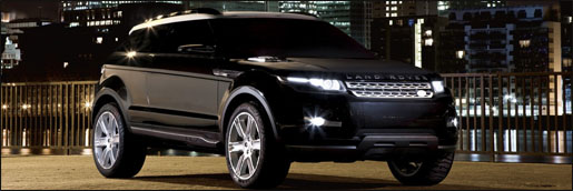 Land Rover LRX Black