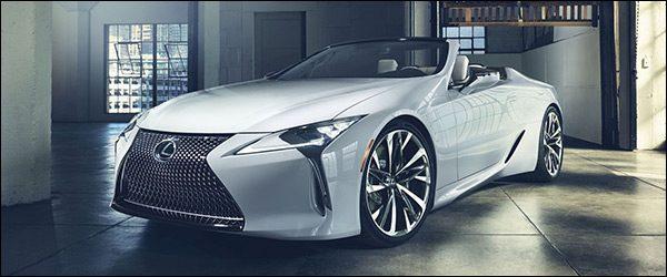 Officieel: Lexus LC Convertible Concept (2019)