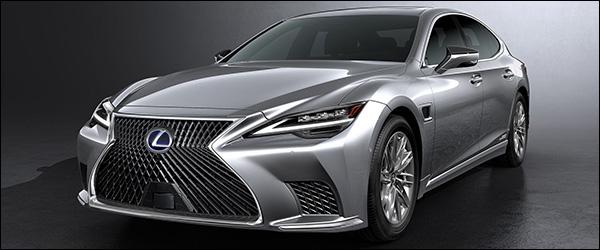 Officieel: Lexus LS facelift (2020)