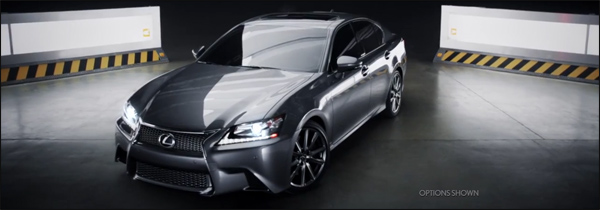Lexus GS Super Bowl