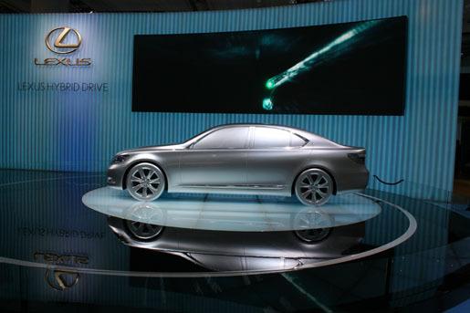 Lexus LS Hybride Zilver
