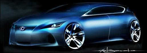 Lexus Teaser: Premium Compact