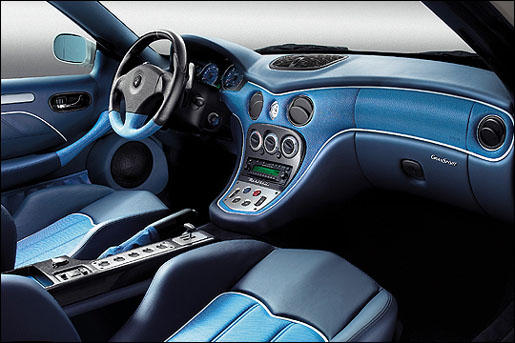 Maserati Gransport Interieur