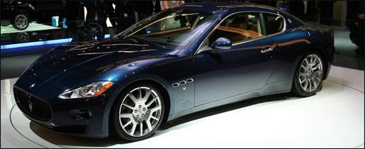 Maserati GranTurismo Blauw