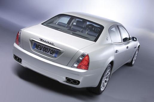 Maserati Quattroporte Achter