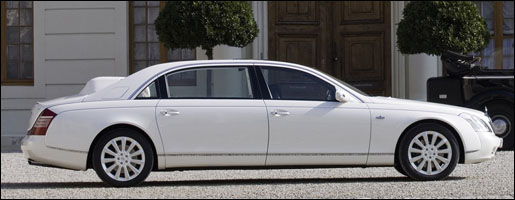 Maybach 62S Laundaulet