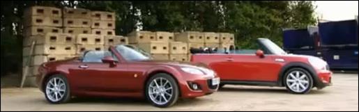 Mazda MX5 vs. MINI Cooper S
