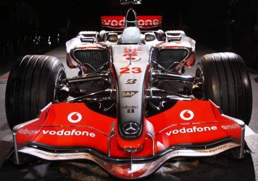 Mercedes McLaren MP4-22 F1