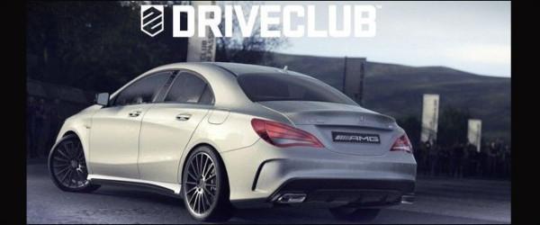 mercedes CLA A45 AMG Driveclub