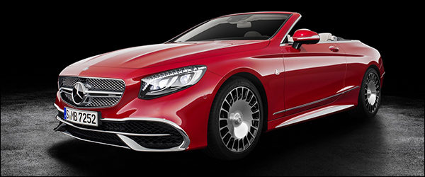 Officieel: Mercedes-Maybach S650 Cabriolet [620 pk / 1.000 Nm]