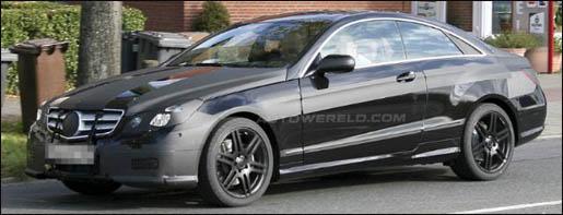 Mercedes CLK 2009 Spyshot