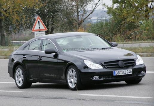 Mercedes CLS 2008 Spyshot