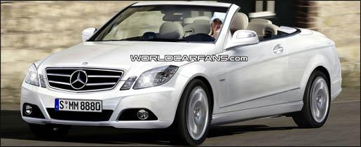 Mercedes E-klasse convertible impressie
