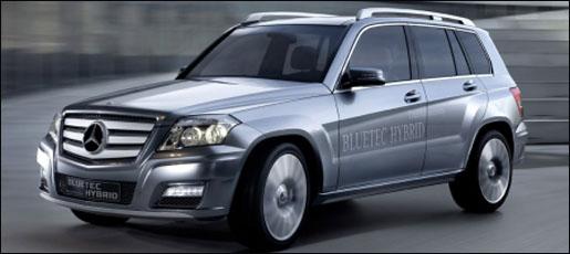 Mercedes GLK Hybrid Bluetec