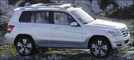 Mercedes GLK Officieel concept