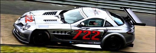 Mercedes McLaren SLR 722 GTR Officieel