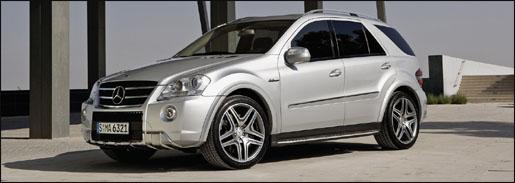 Mercedes ML 63 AMG Facelift