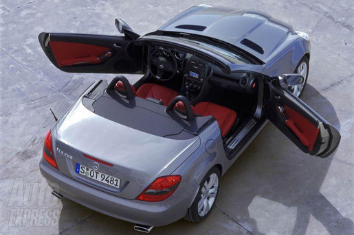 Mercedes SLK Facelift 2008