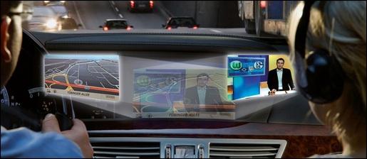 Mercedes Splitview technologie
