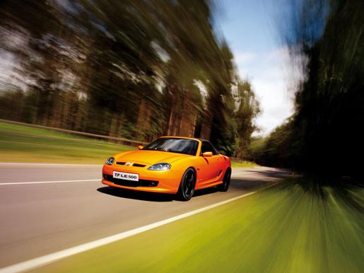 MG TF Roadster 2009