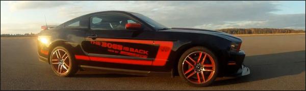 Mustang Boss 302 Laguna Seca 2012