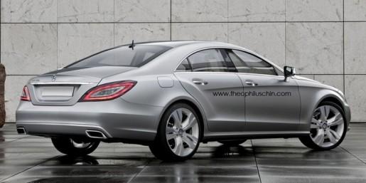 nieuwe Mercedes CLS Impressie 1