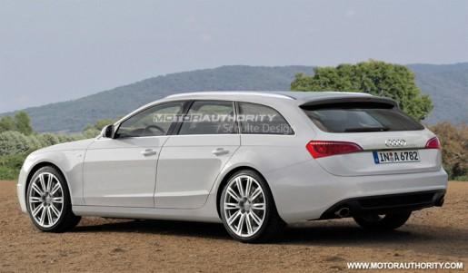 nieuwe Audi A6 Avant 2012