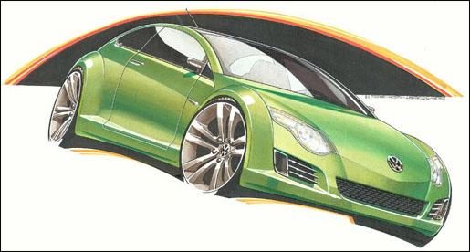 Nieuwe Volkswagen Beetle 2010