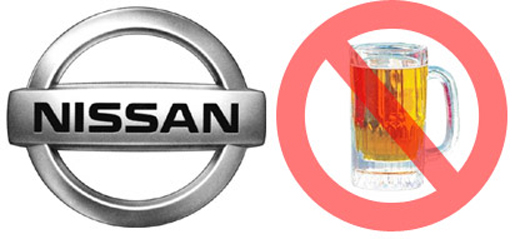 nissan alcohol