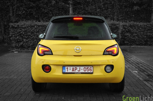 opel adam rear