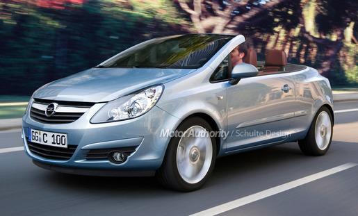 Opel Corsa Cabrio Preview 2009