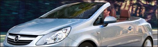 Opel Corsa Cabrio Preview