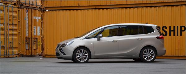 Opel Zafira Tourer 1.6 CDTI ecoFLEX - Rijtest