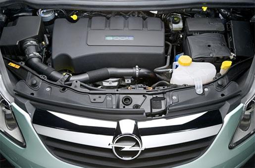 Opel Corsa Hybride Concept Motor