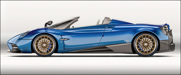 Officieel: Pagani Huayra Roadster [765 pk / 1.000 Nm]