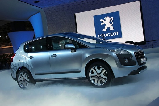 Parijs Peugeot Prologue Concept