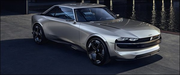 Officieel: Peugeot e-Legend Concept (2018)