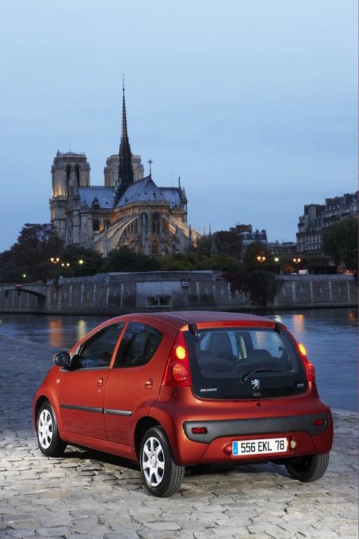 Facelift: Peugeot 107 2009