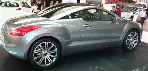 Peugeot 308 RCZ Frankfurt