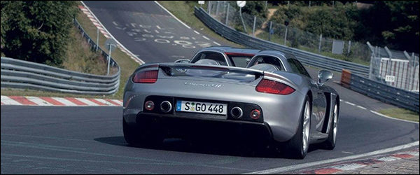 Video: Porsche Carrera GT gaat hard op de Nurburgring - Maxoge78