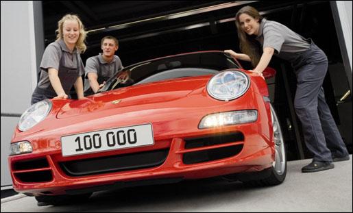 Porsche 911 Type 997 100.000 stuks!