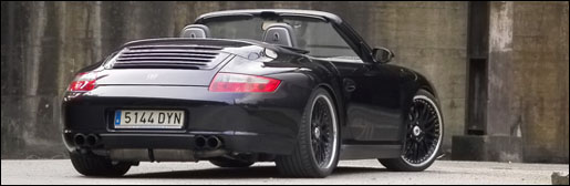 Porsche 911 Turbo Cabrio door 9ff