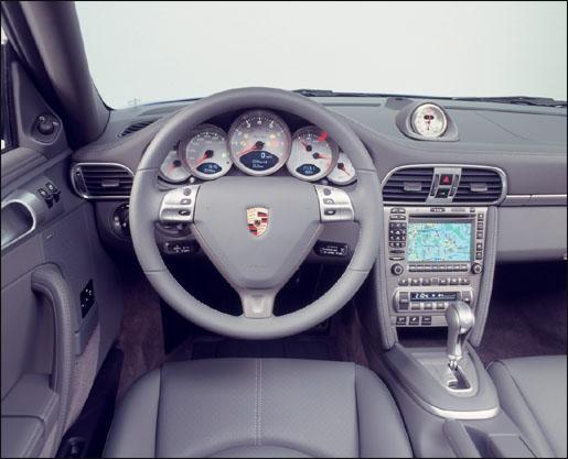 Porsche 911 Turbo Interieur