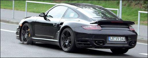 Spyshot: Porsche 911 Turbo 2008