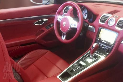 Porsche Boxster Interieur