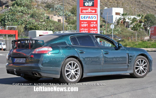 Porsche Panamera Spanje Spyshots