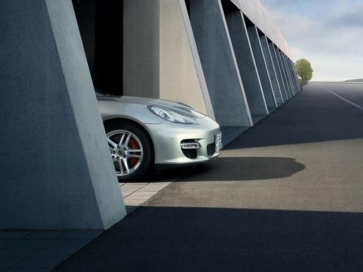 Teaser: Porsche Panamera